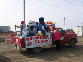 Dental Float in Parade