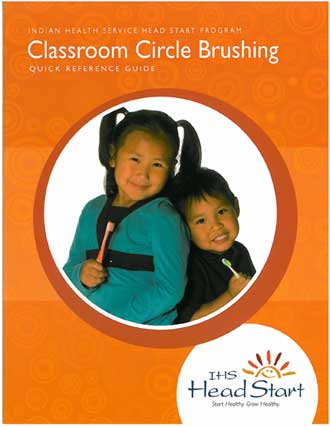 Head Start Circle Brushing Poster