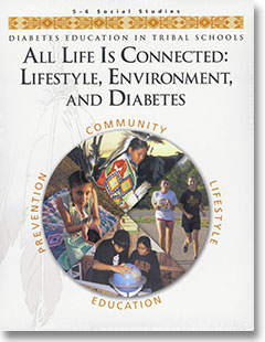 Thumbnail image of DETS Curriculum: All Life Is Connected: Lifestyle, Environment, and Diabetes (Grades 5-6, Social Studies)