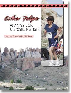 Esther Felipe: At 77 Years Old, She Walks Her Talk!