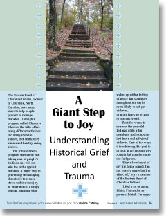 A Giant Step to Joy - Understanding Historical Grief and Trauma
