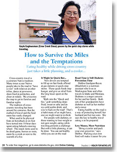 How to Survive the Miles and the Temptations