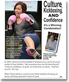 Culture, Kickboxing, AND Confidence