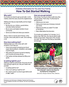 How To Get Started Walking