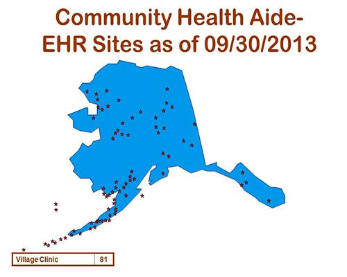 Community Health Aid - EHR Sites