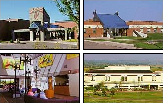 collage of buildings from the Great Plains Area