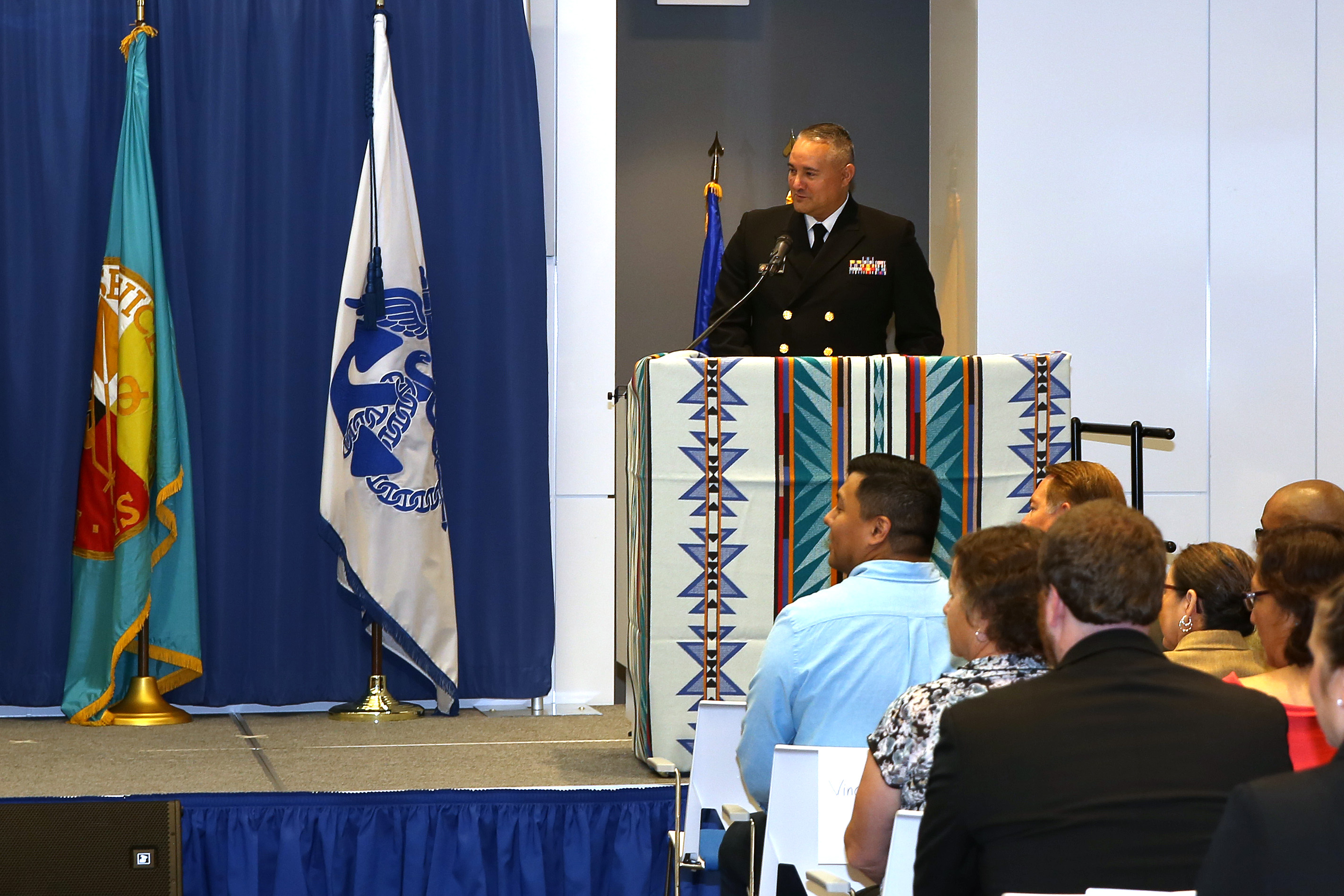 Opening Ceremony - Director's Opening Remarks - RADM Michael Weahkee (HQ)