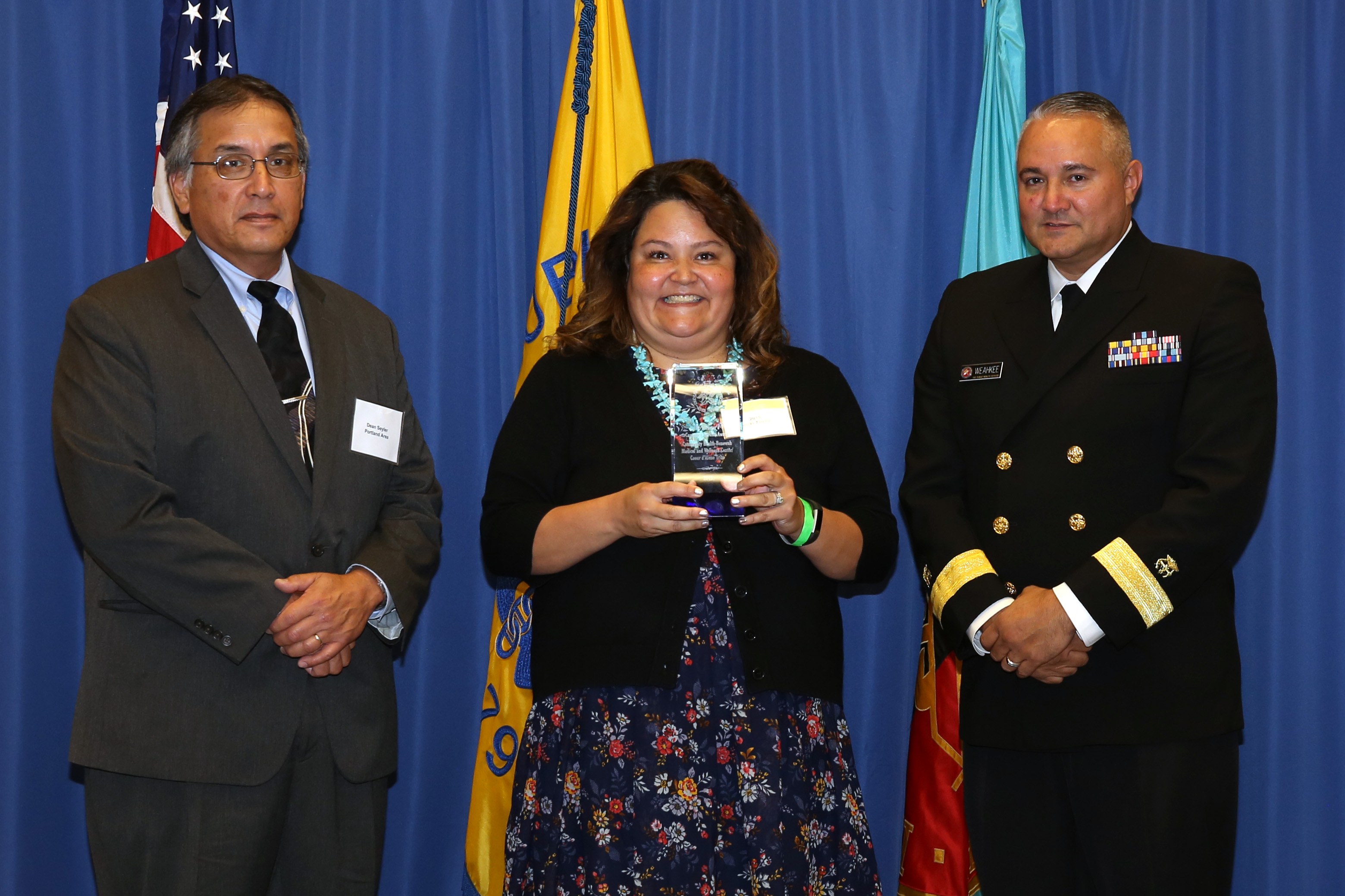 2015 Director's Customer Service Award - Team - Vicki Tovey on behalf of Community Health - Benewah Medical and Wellness Center, Coeur d'Alene Tribe (Portland)
