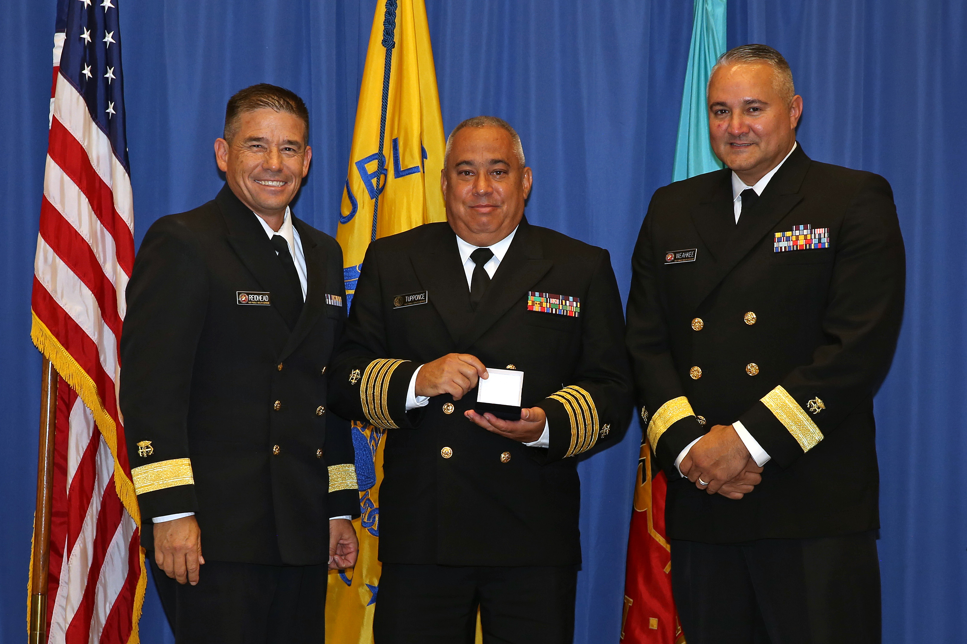 Commissioned Corps Outstanding Service Medal - CDR Alan Tupponce (Phoenix)