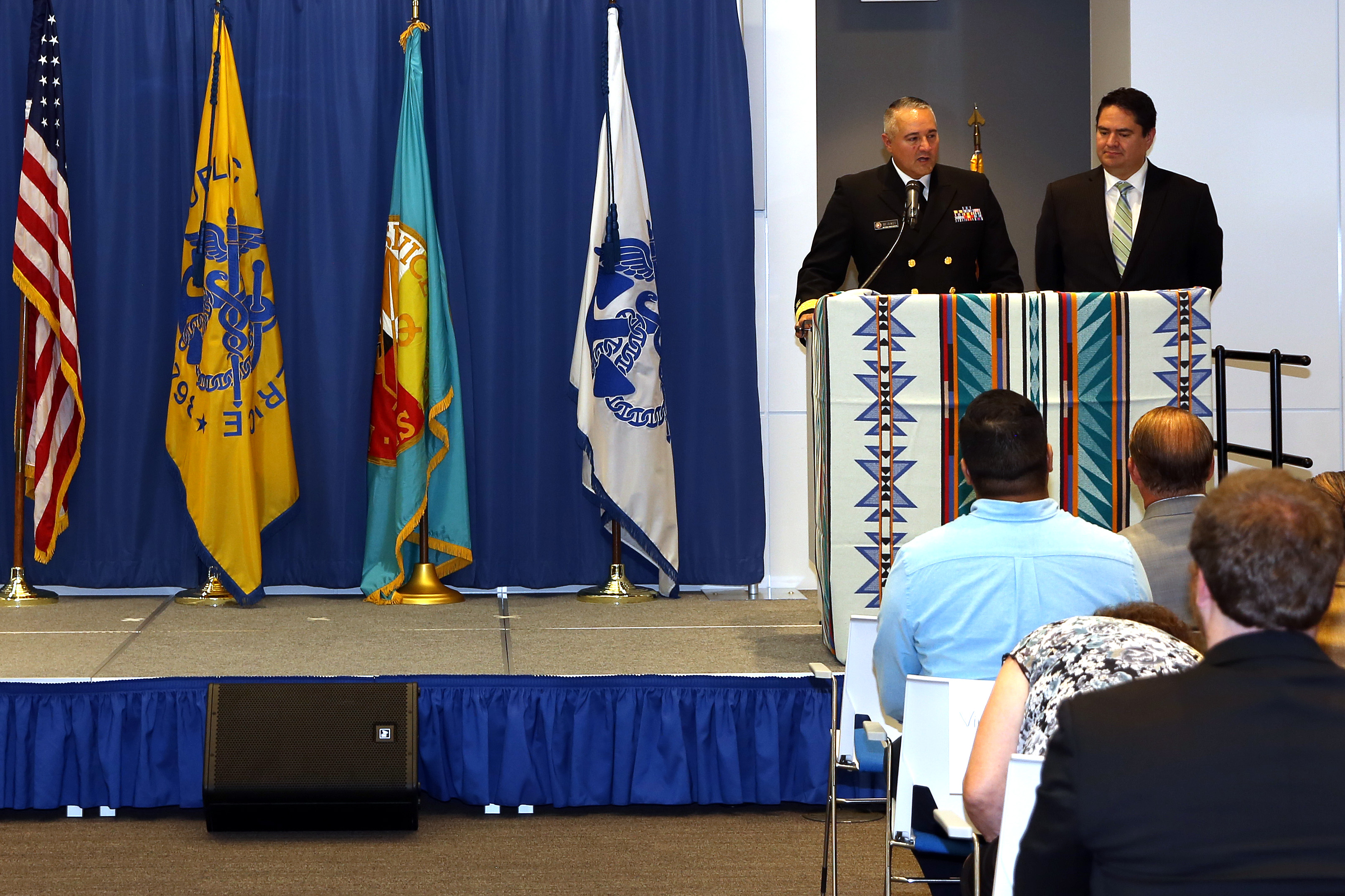 Closing Remarks - RADM Michael Weahkee and MC Ben Smith