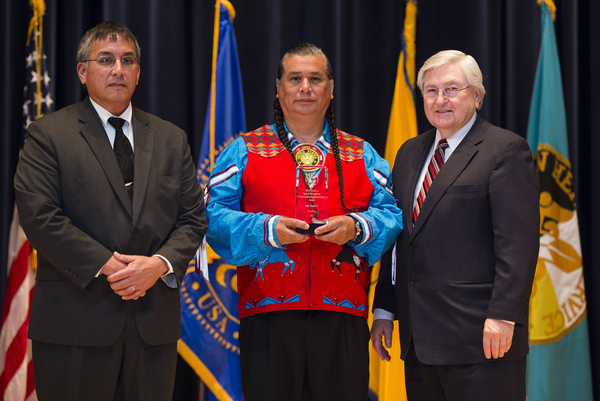 Special Recognition: Tribal Partnership Award - Andy Joseph (Portland Area)