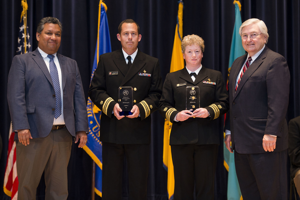 Special Recognition: Ebola Response Team - CDR Sara Allen/LCDR Phil Jaquith (Great Plains Area)