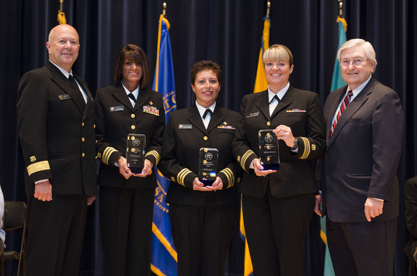 Special Recognition: Ebola Response Team - LCDR Julie Erb-Alvarez/CDR Tracy Farrill/CDR Dana Hayworth (Oklahoma City Area)