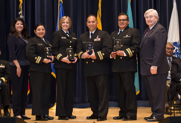 Special Recognition: Ebola Response Team - LCDR Lorenzo Dominguez/LCDR Manuel Pablo, Jr./LCDR Marilyn Sale/LCDR Yvette Shumard (Phoenix Area)