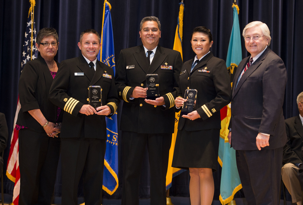Special Recognition: Ebola Response Team - LT Crystal McBride/CDR Martin Smith/CAPT John Whitesides (Tucson Area)