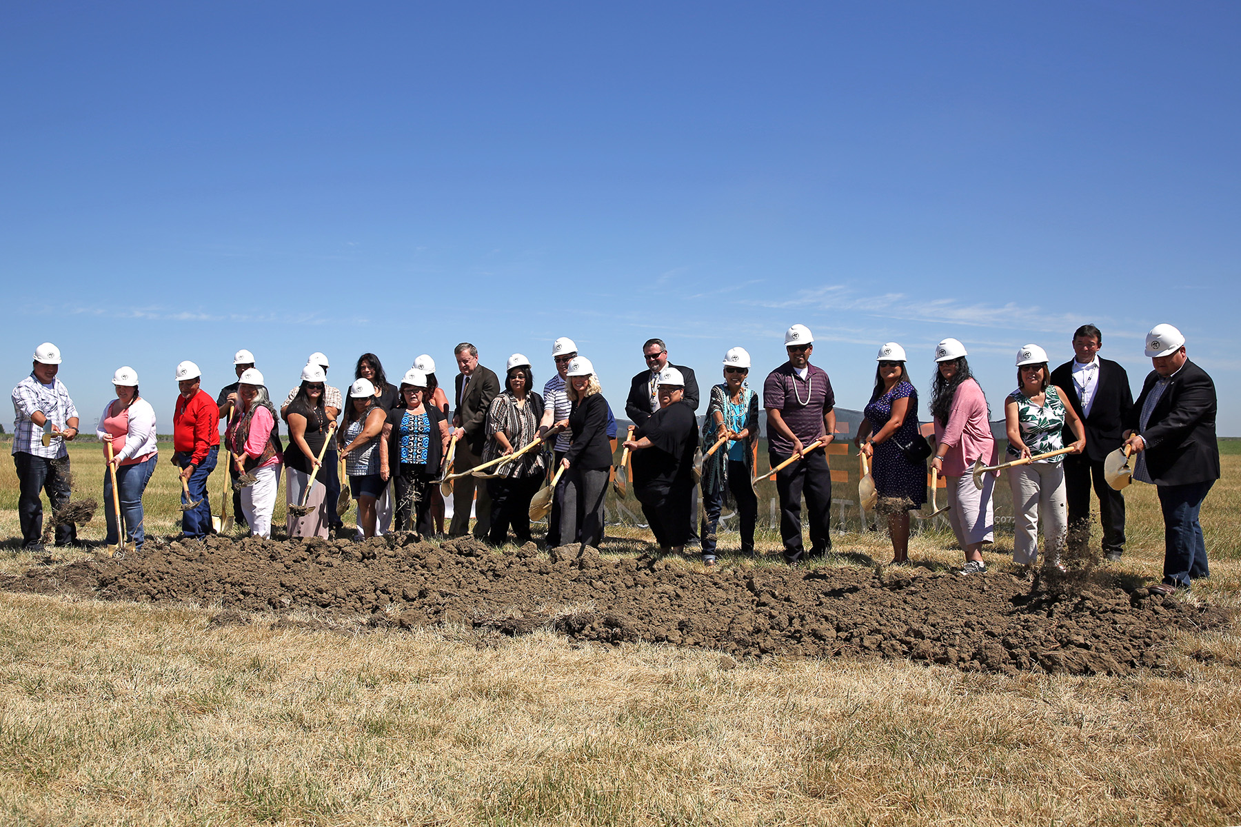 The Indian Health Service held a ceremonial groundbreaking on June 20 for a new Youth Regional Treatment Center in Davis, California.