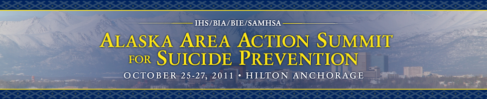 Alaska Area Action Summit for Suicide Prevention Logo
