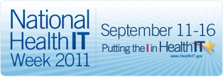 National HealthIT Week 2011 Logo