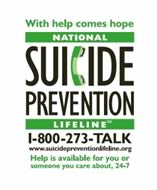 Suicide Prevention Information
