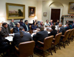 Thumbnail - clicking will open full size image - President Obama's Meeting with Tribal Leaders,  November 2014
