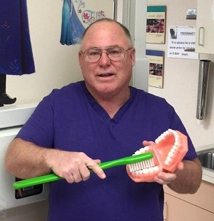 Dr. Richard B. Troyer, DDS, is a practicing pediatric dentist at Crow/Northern Cheyenne Hospital.