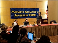 Thumbnail - clicking will open full size image - Midwest Alliance of Sovereign Tribes Impact Week Meeting, February 2013