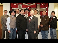 Thumbnail - clicking will open full size image - Cheyenne River Sioux Tribe delegation and Mr. Robert McSwain, Deputy Director for Management Operations