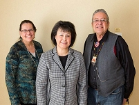 Thumbnail - clicking will open full size image - The Great Plains Tribal Chairman's Association and Dr. Roubideaux