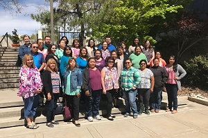 Family Spirit CHR Class of 2017, after 5-day training session in Albuquerque, New Mexico.