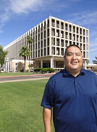 Jason Miller (Navajo) is successfully managing his diabetes by working with PIMC health professionals.