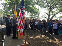 Thumbnail - clicking will open full size image - Secretary Sebelius at Gallup Indian Medical Center