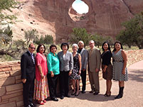 Thumbnail - clicking will open full size image - Secretary Sebelius visit to Navajo Nation, Window Rock