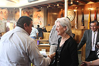 Thumbnail - clicking will open full size image - Secretary Sebelius at Navajo Nation Council Special Session