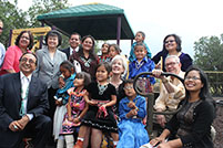 Thumbnail - clicking will open full size image - Secretary Sebelius at Sawmill Head Start