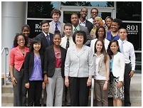Thumbnail - clicking will open full size image - Barbara Jordan Health Policy Scholars