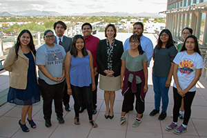 Dr. DeSalvo supports Gen-I by meeting with the Native Youth Council of the Salt River Pima Maricopa Indian Community.