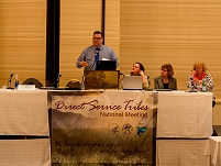 Thumbnail - clicking will open full size image - Direct Service Tribes Annual Conference, July 2014 in Albuquerque, NM