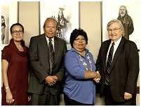 Thumbnail - clicking will open full size image - Tribal Delegation Meeting with the Tejon Indian Tribe