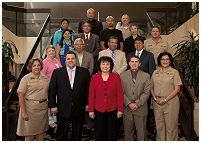 Thumbnail - clicking will open full size image - IHS Area Directors with Senior Staff