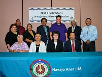 Thumbnail - clicking will open full size image - Navajo IHS Area Listening Session