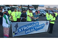 Thumbnail - clicking will open full size image - Running in Beauty for a Stronger Healthier Navajo Nation Event, July 2014