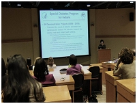 Thumbnail - clicking will open full size image - Speaker Series lecture