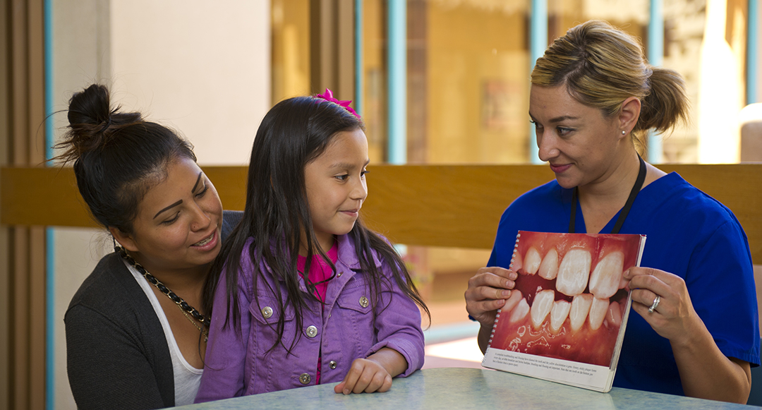 Outside of the treatment room, dental hygienists also educate patients and conduct community outreach.