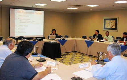 Tribal Advisory Workgroup meeting