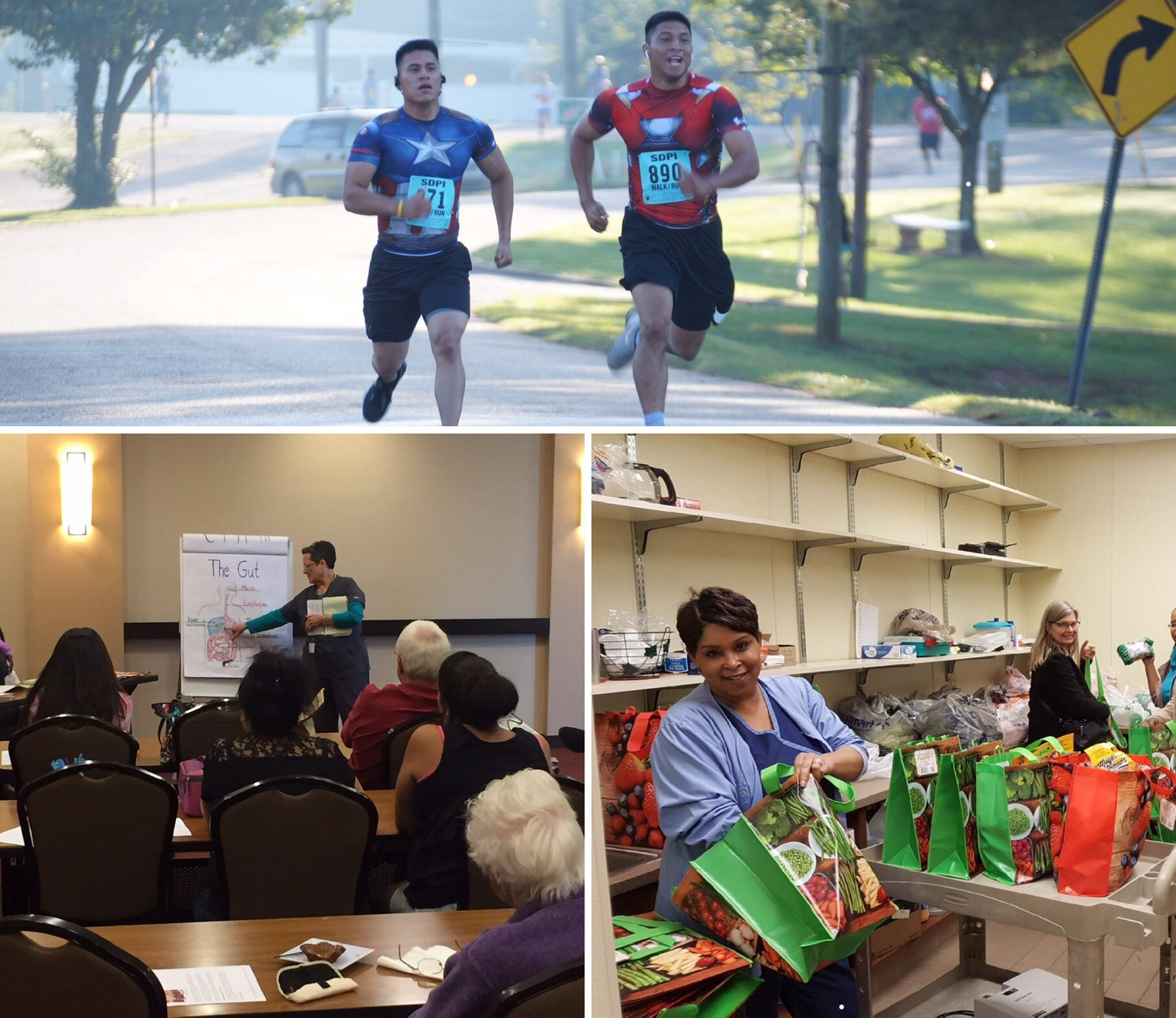 The Special Diabetes Program for Indians has a variety of events throughout Indian Country to encourage healthier activities to prevent diabetes.