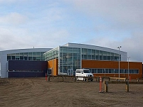 Thumbnail - clicking will open full size image - Samuel Simmonds Memorial Hospital, August 2013 in Barrow, AK