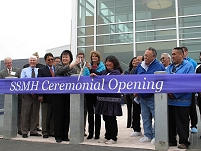 Thumbnail - clicking will open full size image - Dedication of Samuel Simmonds Memorial Hospital, August 2013 in Barrow, AK