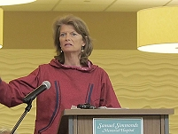 Thumbnail - clicking will open full size image - Senator Lisa Murkowski, Alaska