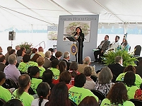 Thumbnail - clicking will open full size image - Choctaw Health Center Groundbreaking Ceremony, September 2013
