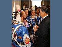 Thumbnail - clicking will open full size image - 2013 White House Tribal Nations Conference